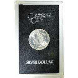 1882-CC GSA MORGAN DOLLAR IN ORIG PLASTIC CASE