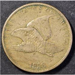 1858 FLYING EAGLE  CENT XF/AU