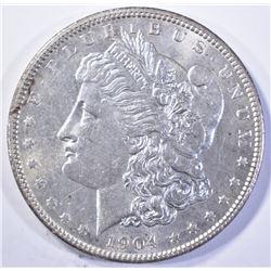 1904 MORGAN DOLLAR, CH BU