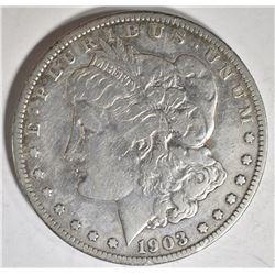 1903-S MORGASN DOLLAR, XF KEY DATE