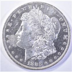 1883-O MORGAN DOLLAR, CH BU DMPL!