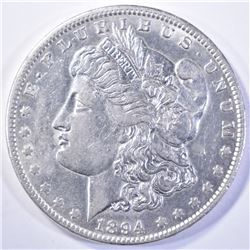 1894-O MORGAN DOLLAR, AU/BU