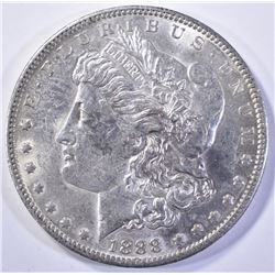 1888-O MORGAN DOLLAR, GEM BU NICE