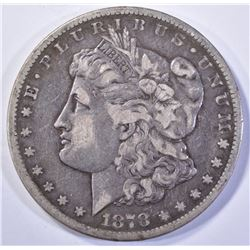 1878-CC MORGAN DOLLAR, CHOICE XF
