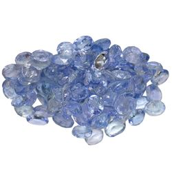10 ctw Oval Mixed Tanzanite Parcel