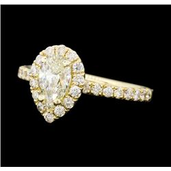1.26 ctw Diamond Ring - 14KT Yellow Gold