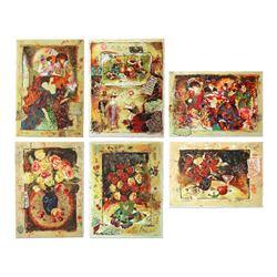 Set of 6 Sergey Kovrigo Limited Editions by Kovrigo, Sergey