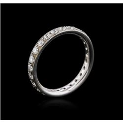 14KT White Gold 0.94 ctw Diamond Ring