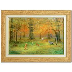 Pooh Soccer by Ellenshaw (1913-2007)