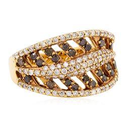 1.07 ctw Diamond Ring - 14KT Rose Gold