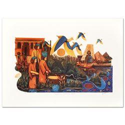 Egyptians Embrace Moses by Ebgi, Amram