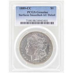 1889-CC $1 Morgan Silver Dollar Coin PCGS AU Details
