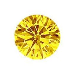 7ct Brilliant Cut Round Canary BIANCO Diamond