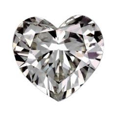 3ct Heart Cut BIANCO Diamond