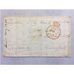 May 27, 1830 Handwritten Letter to Mrs. Parker from Mr. Macaulay - Liverpool
