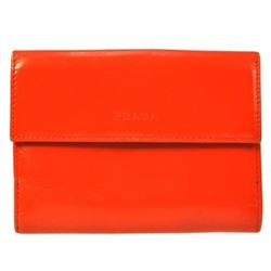 Authentic PRADA Orange Wallet