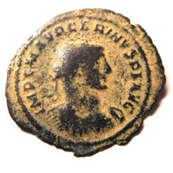 Bronze coin of Carinus: 283 - 285 A.D.