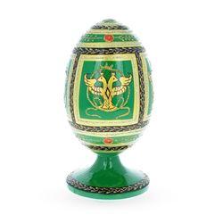 1912 Napoleonic Russian Wooden Egg
