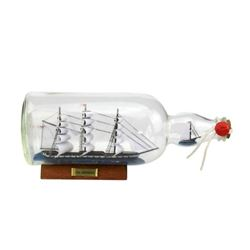 USS Constitution Model Ship in a Glass Bottle 11""