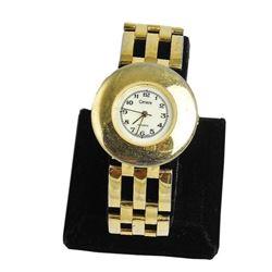 Ladies Gold Cenere Quartz Wristwatch