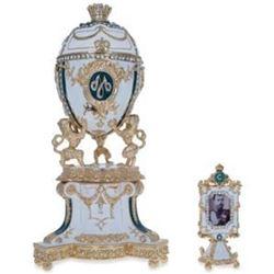 "1903 Royal Danish Russian Egg 8.4"""