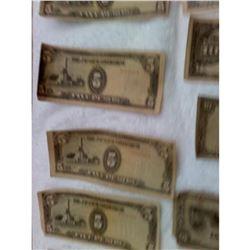 WW2 Japanese et al Paper Money