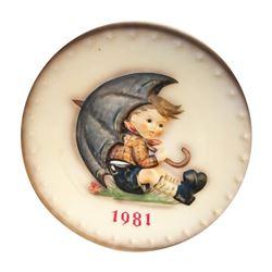 1981 Hummel Plate