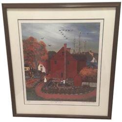 David Knowlton signed Print
