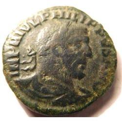 Large Bronze Sestertius of Philip I (244 - 249 A.D.)