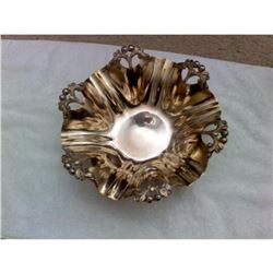 Silver-plate Fruit Bowl