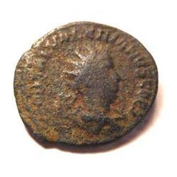 Bronze Coin of Saloninus: 258-260 A.D. - Rare