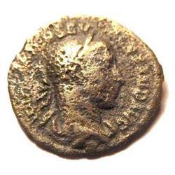 Suilver Denarius of Severus Alexander: 222-235 A.D.