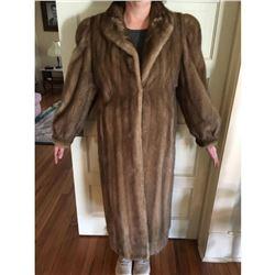 Full length Mint Coat