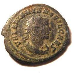 Bronze Coin of Valerian II: 253-257 A.D. - Scarce