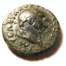 Large Bronze As of Vespasian: 69-79 A.D.