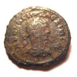 Rare and Unusual 2 Headed Coin: Vaballathus (267-272 A.D.) & Aurelian (270-275 A.D.) - Rare
