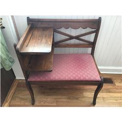 Vintage 'phone table'