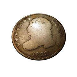 Two Early U.S. Dimes: 1829 & 1885