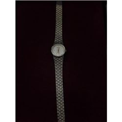 Elegant Rare Ladies Piaget by Quartz Watch with Diamonds