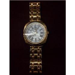 Large Elegant Ladies Gold Tone Juicy Couture Watch