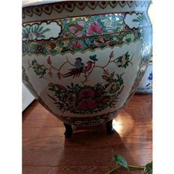 Very Large Asian Ceramic Planter