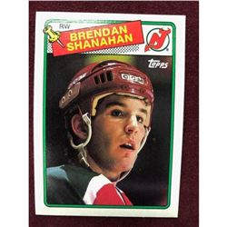 Vintage 1988 Brendan Shanahan Rookie Hockey Card