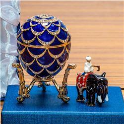 1900 Pine Cone Royal Russian Egg