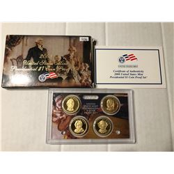 2008 S DCAM Presidential Proof Set in Original Box with Paperwork