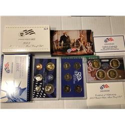 2007 S Hard to Get DCAM Proof Set in Original Box with Paperwork
