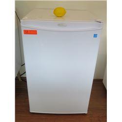 """White Danby Mini Refrigerator 20.5""""W x 20.5""""D x 32""""H"""