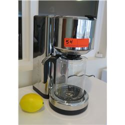 Coffee Maker, Chrome Finish