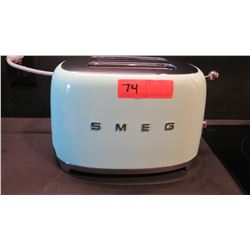 Vintage Blue SMEG Toaster (was used only in staging)