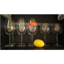 Qty 10 Oversized Wine Glasses (was used only in staging)