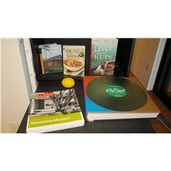 Misc. Books: 75 Years of Capital Records, Modern Hawaiian Architecture (Ossipof), Tropical Houses, e